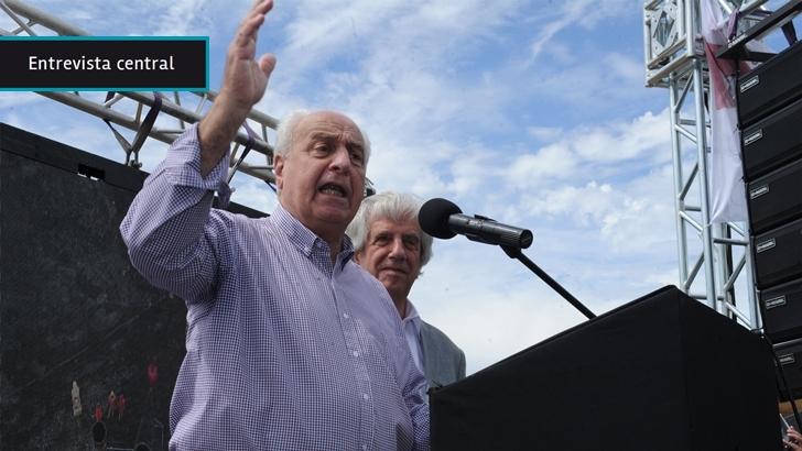 """Ministro Rossi: Ruta 30 quedó """"de primera"""", hay """"algunos pocos puntos a corregir"""", pero es """"irresponsable"""" que Un Solo Uruguay haga """"oposición"""" cuestionando calidad de trabajos"""