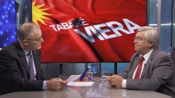 """Tabaré Viera sobre candidatura de Sanguinetti: """"Tomamos la decisión de no decidirlo ahora, lo vamos a hacer en febrero o marzo de 2019"""""""