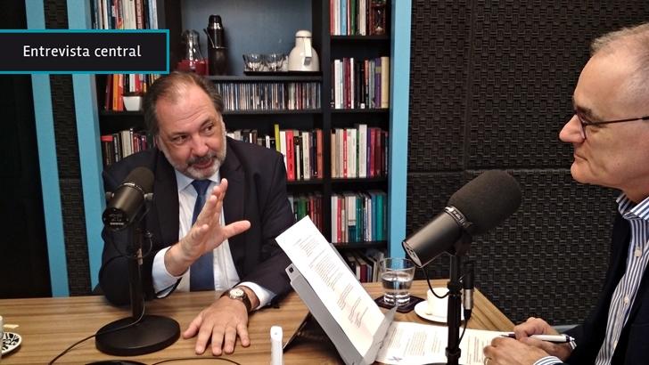 """Jorge Gandini: Juan Sartori """"trata de usar"""" al Partido Nacional porque es """"el que mejor cotiza para la próxima elección"""", pero al mismo tiempo se """"desliga"""" para poder """"decir lo que quiera"""""""