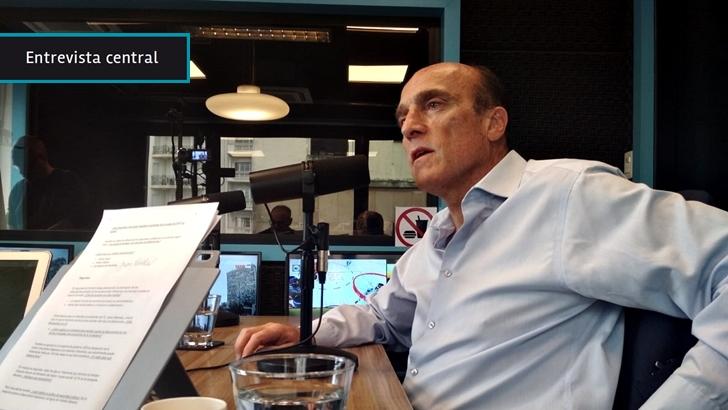 """Daniel Martínez propone lograr """"un 70 % de acuerdo"""" en temas clave entre todos los partidos: """"Discutamos sobre el otro 30 %, pero no andar comiéndonos los talones"""""""