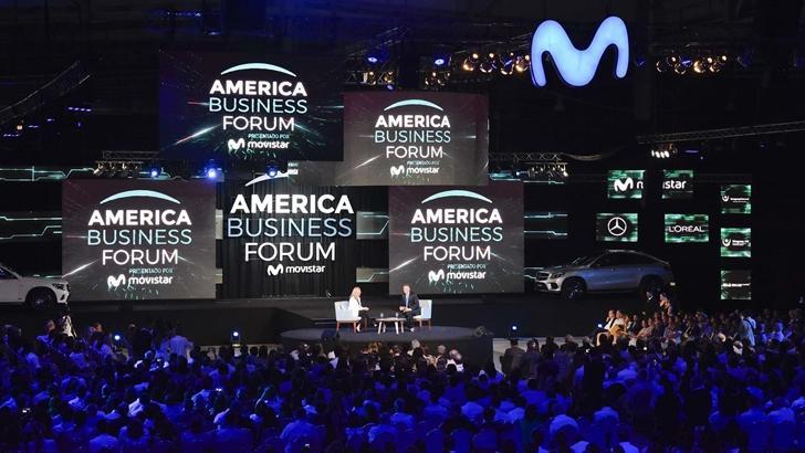 <em/> Movistar </em> presentó la 4a edición de <em/>America Business Forum </em>
