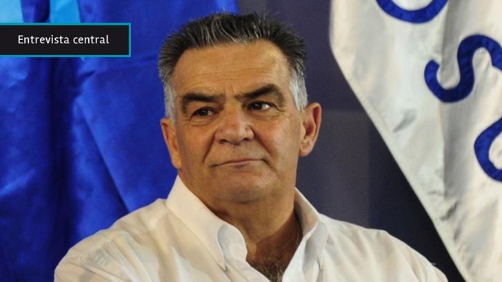 """Carmelo Vidalín tiene """"la esperanza"""" de que la calidad del Río Negro mejore con UPM 2: """"Yo acompaño al Gobierno nacional con este proyecto con todas mis fuerzas"""""""