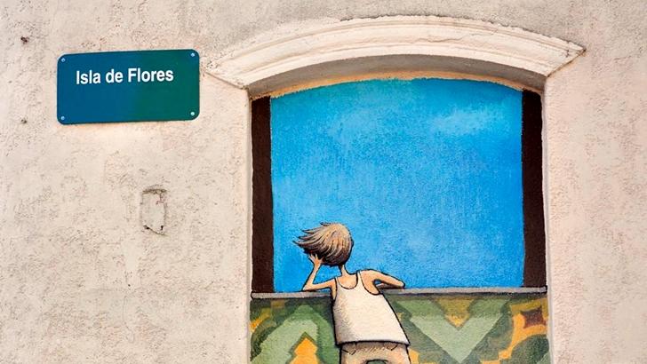 Los ojos de Rosario: Books on Wall en Palermo