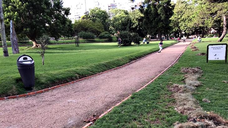 Los ojos de Rosario: Reformas en Parque Villa Biarritz