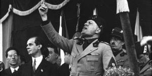 100 años del nacimiento de las milicias de Mussolini que dieron origen al fascismo