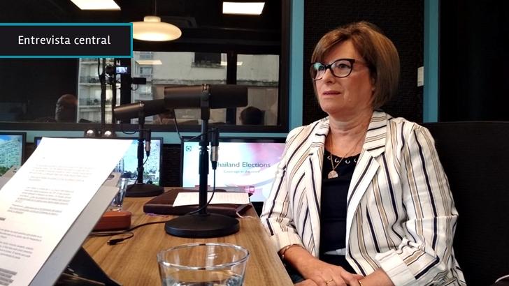 """Bernadette Minvielle (SCJ): """"Discrepo con Manini Ríos"""", militares """"tuvieron todas las garantías""""; interpusieron """"dilatorias"""" y """"algún juez tendría que haber parado el carro"""""""
