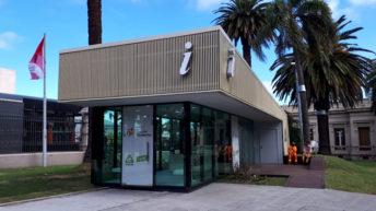Punta Carretas: Nueva oficina de información en una zona con gran afluencia de turistas