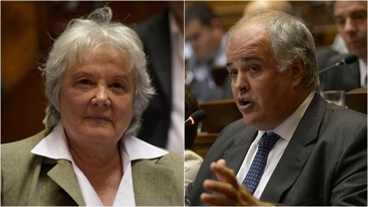 Manini Ríos: Según Lucía Topolansky, «pasó una raya que no debiera haber pasado»; para Gustavo Penadés, el cese del comandante «tiene ribetes no deseados»