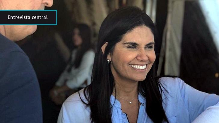 """Verónica Alonso no descarta acuerdo con Sartori pero pretende llegar con su campaña a las internas mientras reafirma su objetivo de """"cambiar al Partido Nacional"""""""