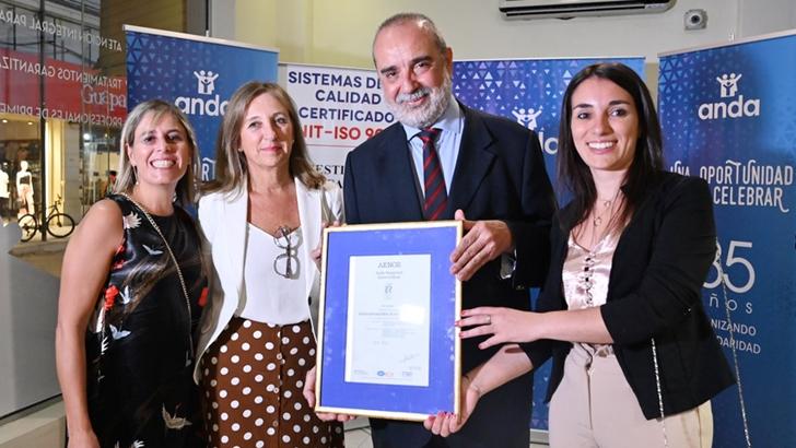 <em/> Servicios Odontológicos </em> de ANDA en Melo y Maldonado obtuvieron certificación de calidad