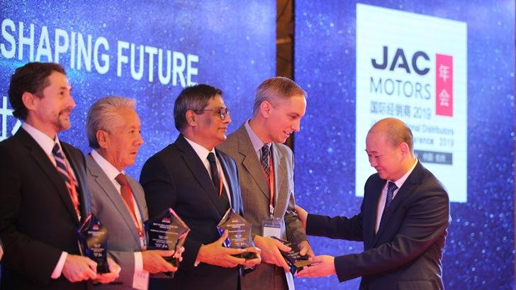 Jac Uruguay fue distinguido como mejor Distribuidor Global 2018