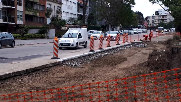 ¿Cómo transcurren las obras previas a la construcción del túnel en Avenida Italia?