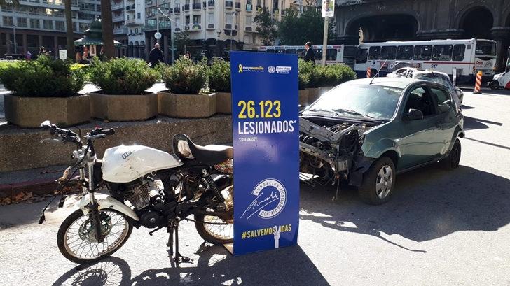 Fundación Gonchi Rodriguez interviene la Plaza Independencia