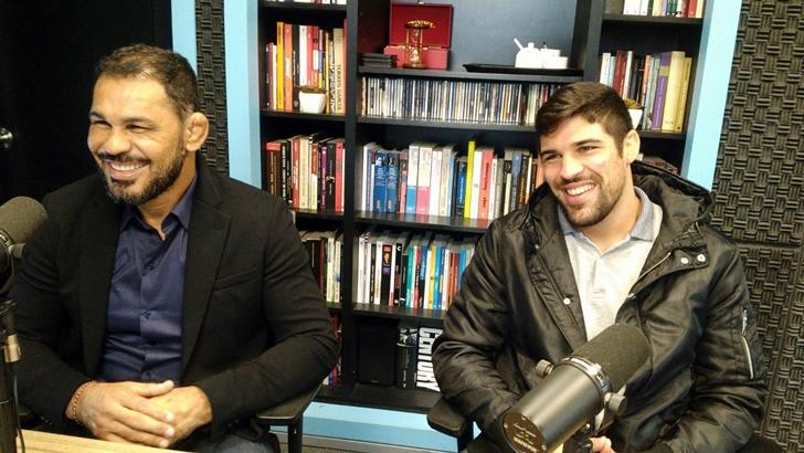 Entrevista con Rodrigo «Minotauro» Nogueira y Vicente Luque, peleadores de UFC (T05P88)