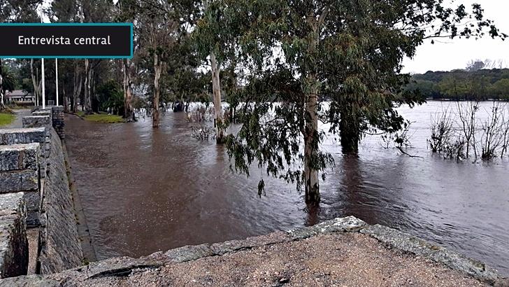 """Cecoed Durazno: Se debe reubicar en zonas no inundables a 6.200 personas; la Intendencia evitó construcciones nuevas cerca del río Yi y demolió """"dos docenas"""" de casas en obra"""