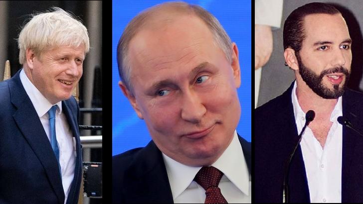 Las caras de Rusia, Boris Johnson y Nayib Bukele (La Hora Global T01P37)