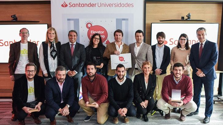 Banco Santander recibió a emprendedores universitarios en la tercera edición del Elevator Day