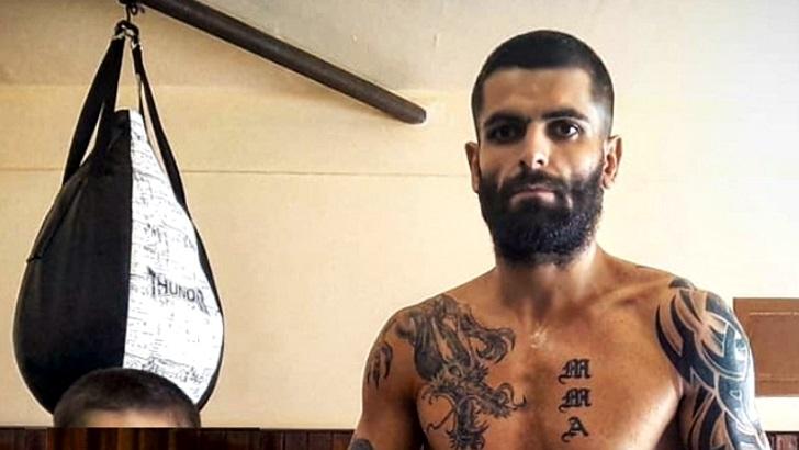 Entrevista al luchador uruguayo de UFC Luiz Garagorri (PDA T05P126)