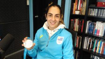 Entrevista a la medalla de plata panamericana en pelota vasca (PDA T05P133)