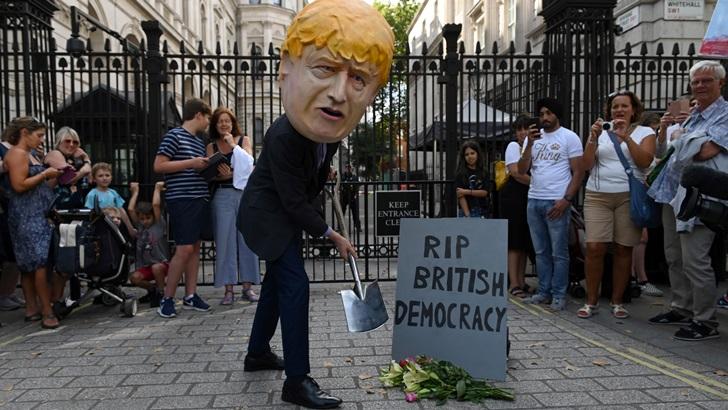 Boris Johnson y la suspensión del Parlamento británico