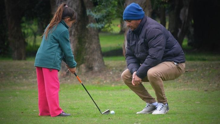 <em>Los ojos de Rosario</em>: Escuela de Golf ChiMont en el Club de Golf del Cerro