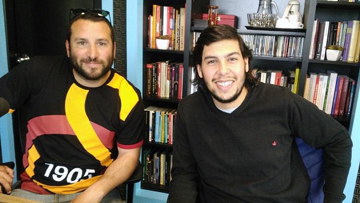 Entrevista a Agustín Lucas y Mateo Cortés sobre fútbol y literatura (PDA T05P151)