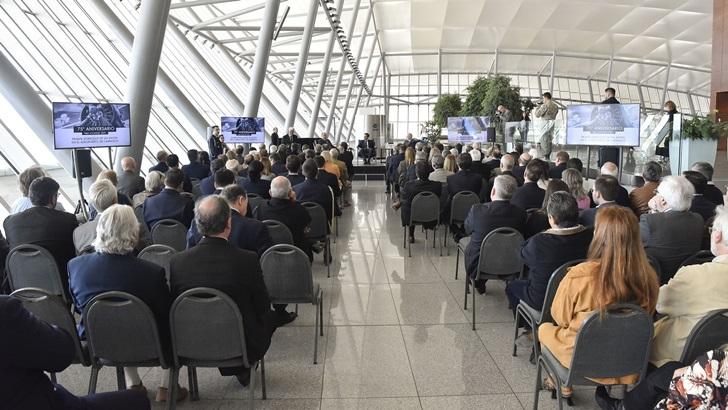 Se celebró el 75° aniversario del primer aterrizaje en el Aeropuerto de Carrasco