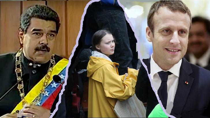 La declaración del TIAR, la hora de Greta Thunberg, y Macron (La Hora Global T01P54)
