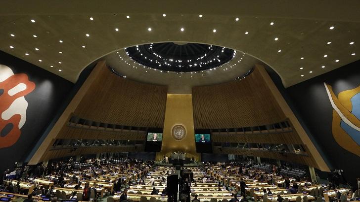La Asamblea general de las Naciones Unidas (La Hora Global T01P52)