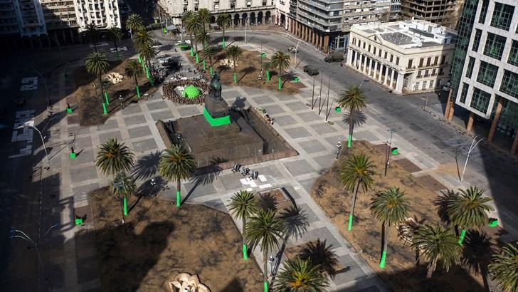 La plaza Independencia: Su historia y su presente como locación de la serie <em>Conquest</em> (Paisaje-Ciudad T02P21)