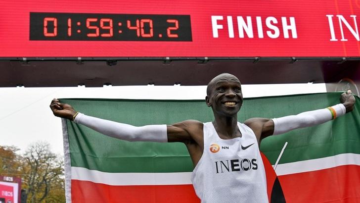 Los keniatas y su dominio en la maratón (PDA T05P173)