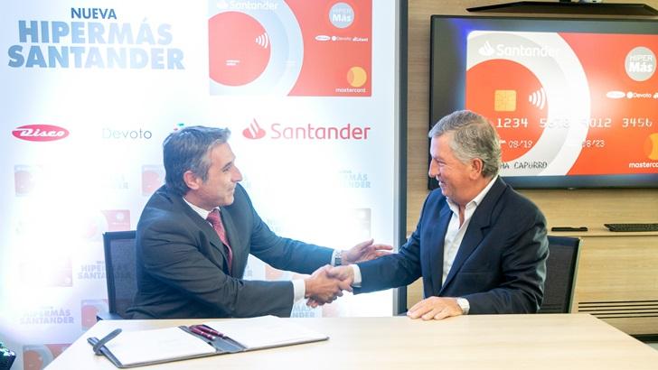 Santander y Grupo Disco se unen para ofrecer los mejores beneficios en una tarjeta