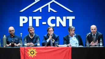 Lacalle Pou en el PIT-CNT: confirmación de la distancia entre las partes y pocos aplausos pero puerta abierta al diálogo en 2020