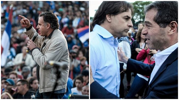Lacalle Pou inicia contactos con cúpulas partidarias y Martínez suma a Orsi para dar un giro en la campaña