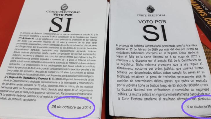 Verdades y falsedades sobre las publicaciones acerca de la papeleta de la reforma constitucional