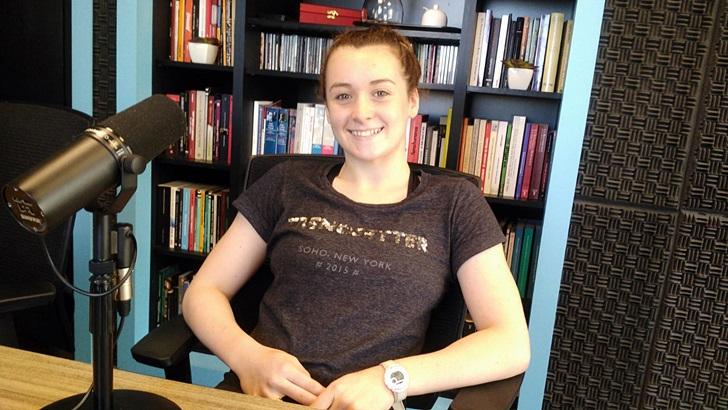 Entrevista a la nadadora Nicole Frank (T05P196)