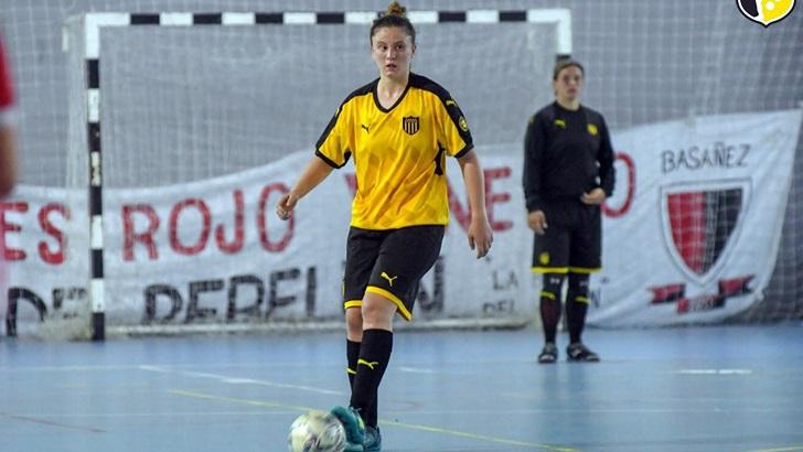 Entrevista a Belén Yuvet, jugadora de Peñarol Futsal (T05P199)