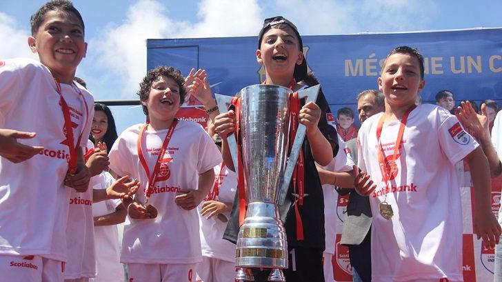Se disputó la cuarta edición del Campeonato Nacional de Fútbol Infantil Scotiabank