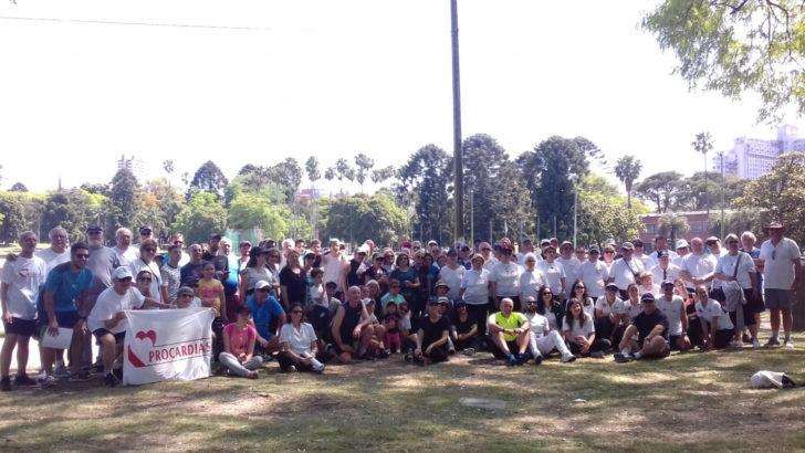 SUAT realizó la tercera correcaminata de personas en rehabilitación cardíaca de Uruguay