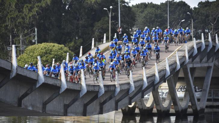 Gran Fondo Movistar reunió a 600 ciclistas en Punta del Este