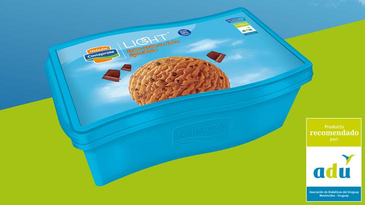 Helados Conaprole lanza un nuevo sabor light