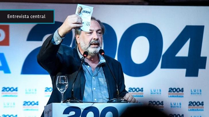 Jorge Gandini: «Un wilsonista no puede ver en Daniel Martínez un gobernante», «no entiendo esa apelación que es ofensiva y oportunista»