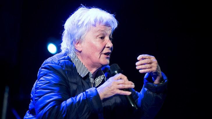 Lucía Topolansky: «Es la primera vez en mis 75 años que veo tanto pamento en torno a una transición»