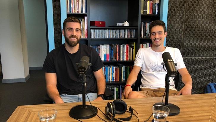 Alejandro Velazco y Felipe González, campeones de handball con Colegio Alemán (T05P215)