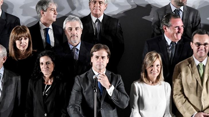 El nuevo gabinete ministerial de Lacalle Pou