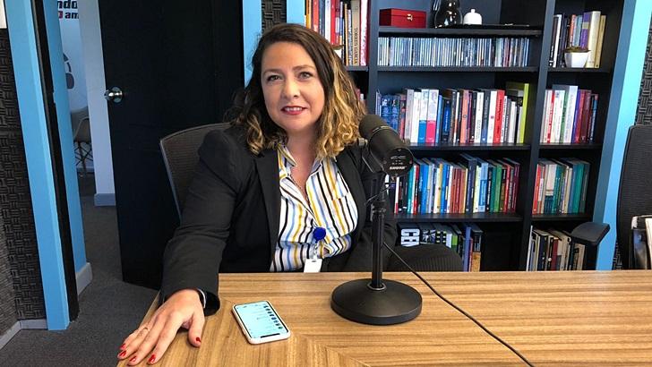 Entrevista a Paola Galusso, jugadora, entrenadora y presidenta de Juan Ferreira Voley (T05P218)