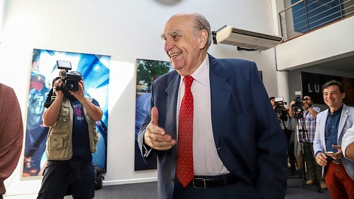 Julio María Sanguinetti asumió por tercera vez como secretario general del Partido Colorado