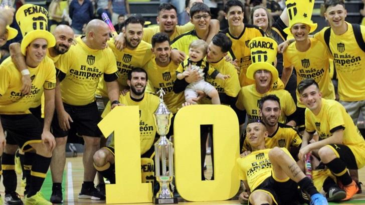 Entrevista a Gustavo Sánchez, DT campeón de Peñarol Futsal (T05P220)