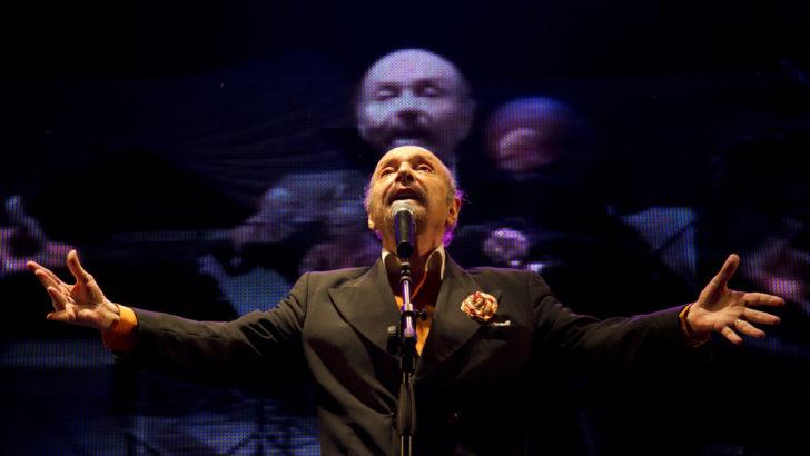 En <em>Aquellas voces</em> sonó la voz del poeta y compositor de tango Horacio Ferrer (La Canoa T02P182)