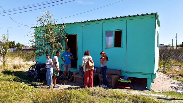 Una visita al módulo habitacional de emergencia 2.0 de TECHO en Ciudad del Plata